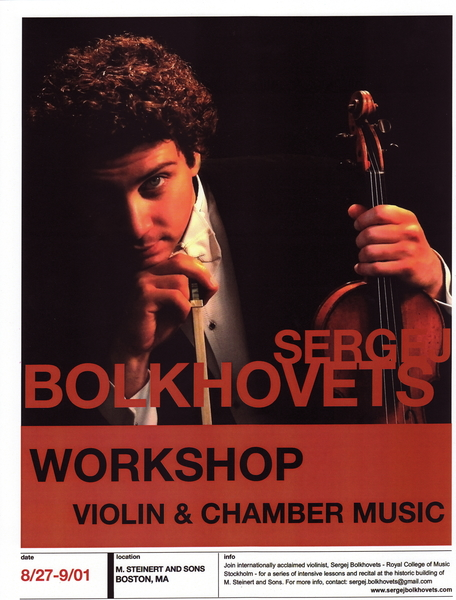 Violin & Chamber Music Workshop