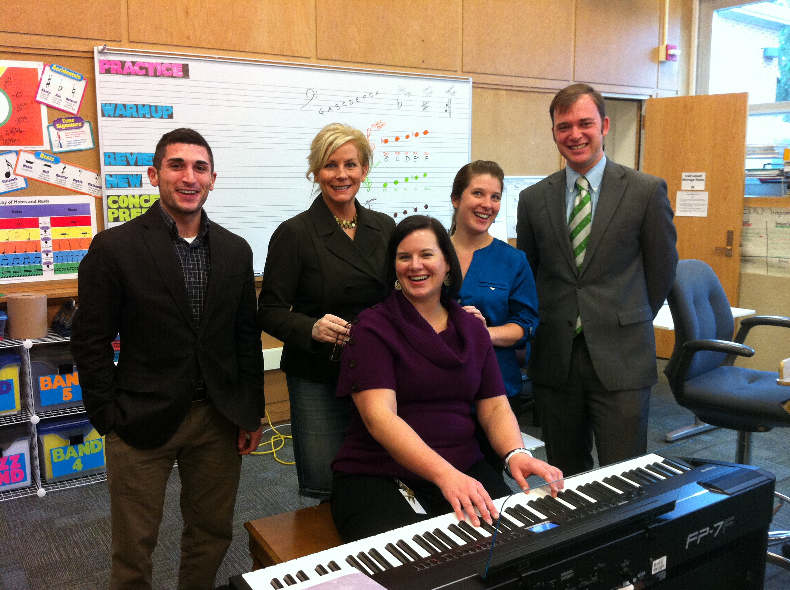 Marblehead Village School Wins New Piano from M. Steinert & Sons