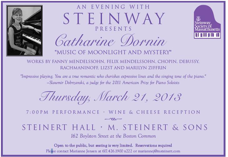 Catharine Dornin Recital