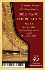 Steinway Society of Massachusetts 2013 Piano Competition Results!