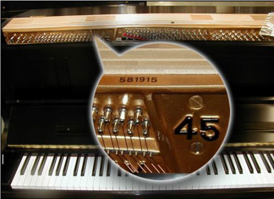 How old is my steinway m steinert sons pianos 877 for Yamaha music school locations