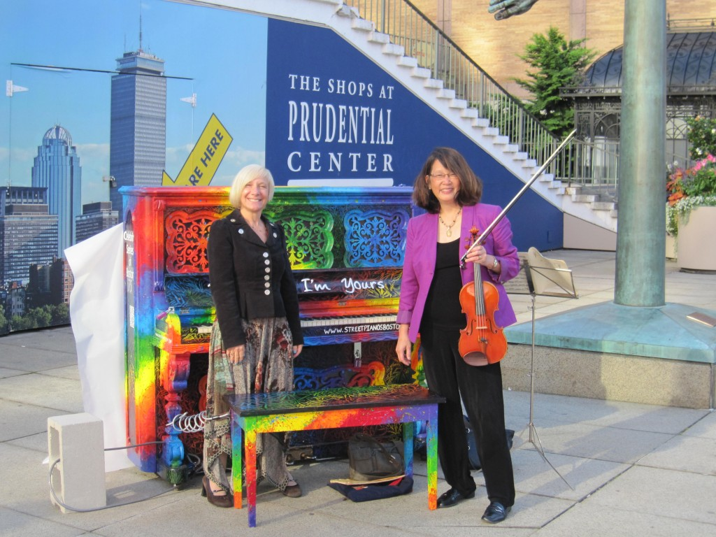 Lisa and Suzanne at Prudential