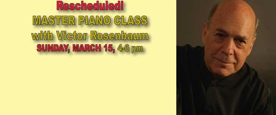 Victor Rosenbaum Master Class