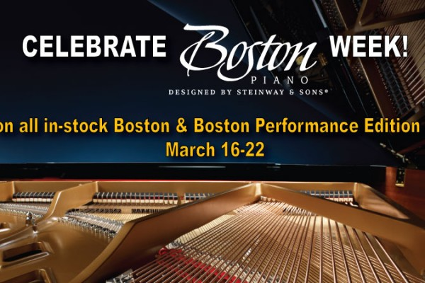Boston Piano Week March 16-22