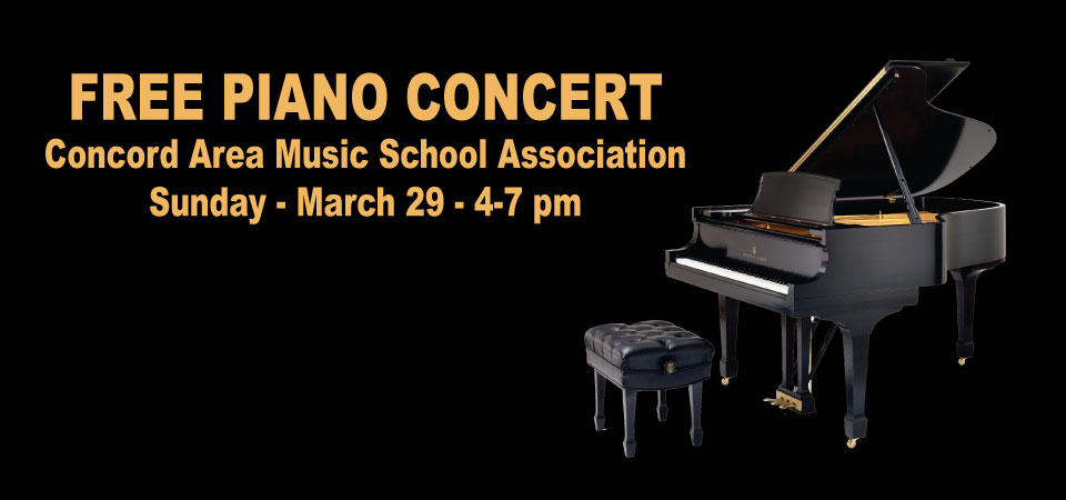CAMSA (Concord Area Music School Association) CONCERTO CONCERT