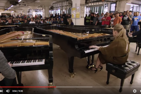 """The Sorcerer's Apprentice"" on Five Steinway Pianos"