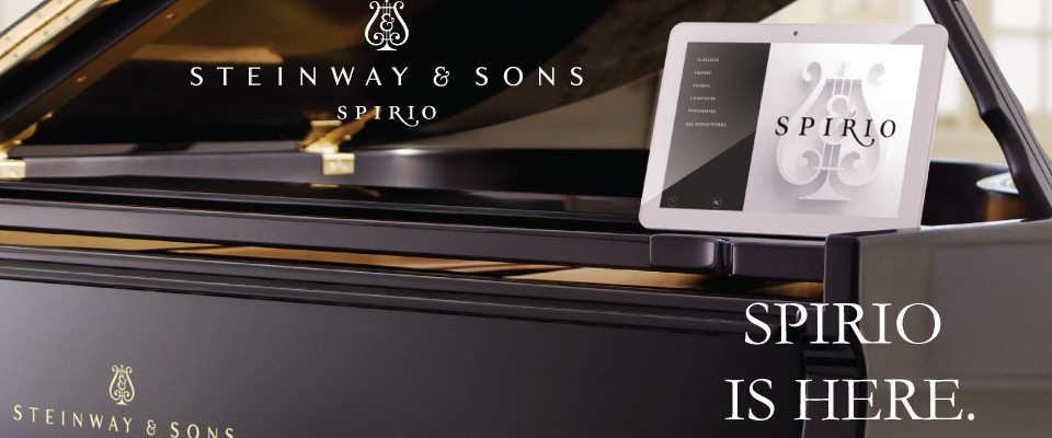 Introducing Spirio, a Fully Integrated, High-Resolution Player Piano System