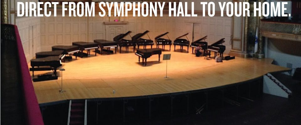 Steinway & Sons Tanglewood BSO Sale