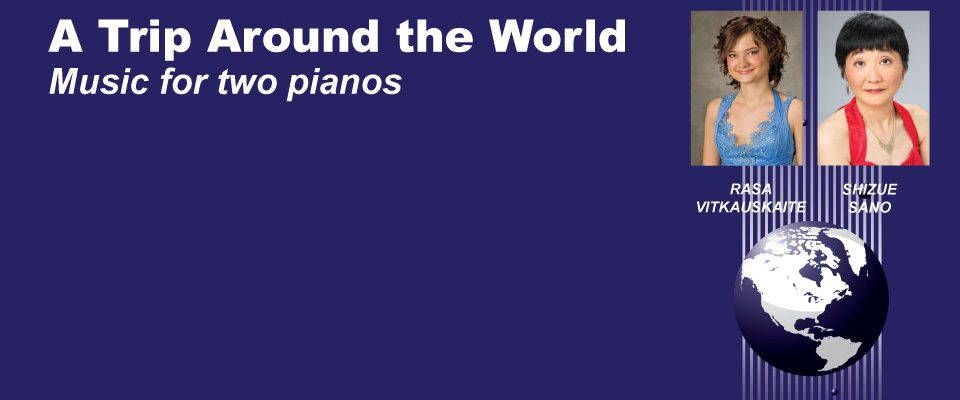 A Trip Around the World: Music for Two Pianos