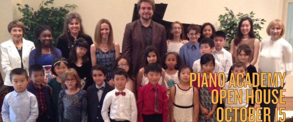 Piano Academy Open House
