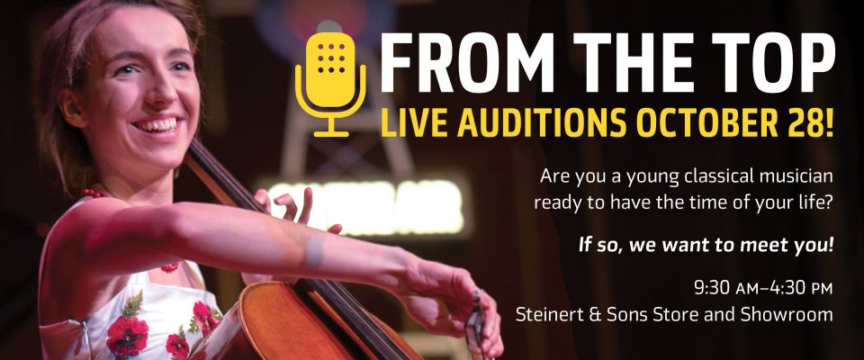 From the Top live auditions!