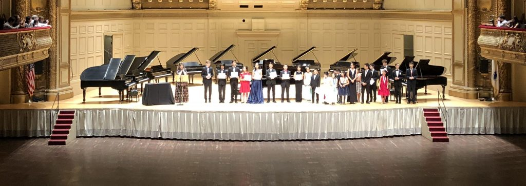 Steinway Society Competition Winners 2019