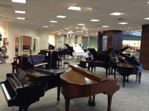 Natick Mall Piano Showroom