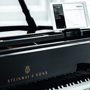 This is the hero image for Steinway Spirio
