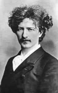 Photo of Polish pianist Ignacy Jan Paderewski