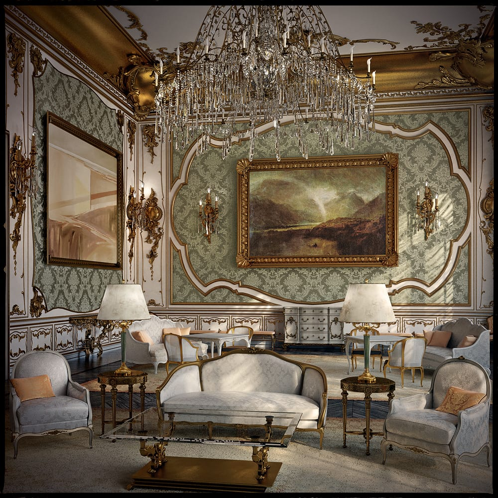 Rococo Living Room