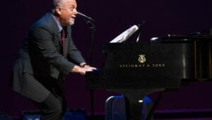 Photo of Steinway Artist Billy Joel performs on a Model D.