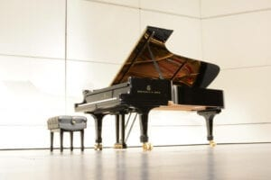 A New Model D Steinway Concert Grand
