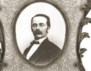 Sketch of Steinway & Sons' founder Henry Steinway