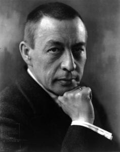 Photo of Russian composer and pianist Sergei Rachmaninoff