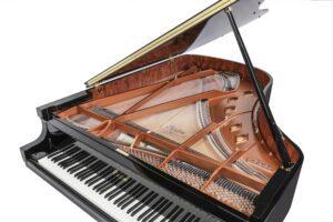 Photo of Boston grand piano--acoustic