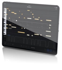 Photo of Spirio's separate iPad interface