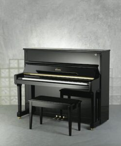 Photo of an Essex upright piano